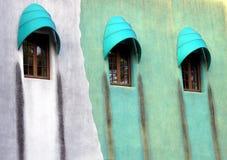 Diseño extraño de la ventana Foto de archivo libre de regalías