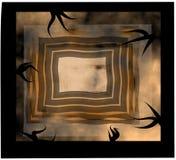 Diseño fantasmagórico de los rectángulos Fotografía de archivo libre de regalías