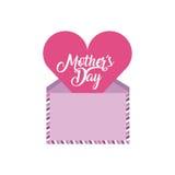 Diseño feliz del día del ` s de la madre stock de ilustración