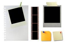 Diseño fijado en blanco Imagen de archivo libre de regalías