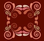 Diseño floral -1 Imagen de archivo