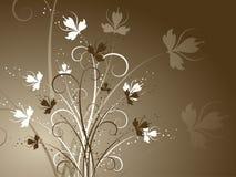 Diseño floral ilustración del vector