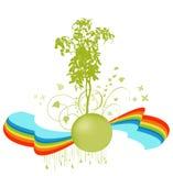 Diseño floral Imagen de archivo libre de regalías