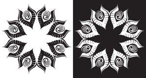 Diseño floral abstracto del vector ilustración del vector