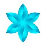 Diseño floral azul abstracto libre illustration