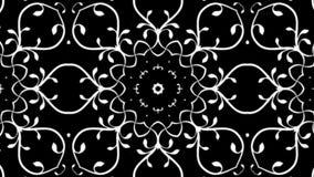 Diseño floral con efecto caleidoscópico