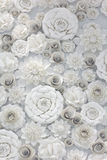 Diseño floral de papel Imagen de archivo libre de regalías