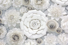 Diseño floral de papel Fotografía de archivo libre de regalías