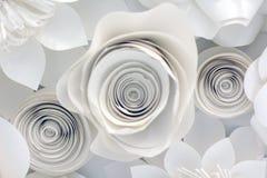Diseño floral de papel Fotos de archivo