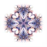 Diseño floral del adorno de la acuarela libre illustration