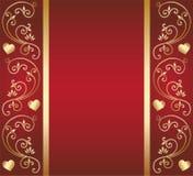 Diseño floral del corazón ilustración del vector