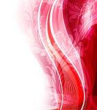 Diseño floral del ejemplo del vector Fotografía de archivo