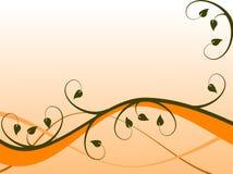 Diseño floral del fondo stock de ilustración