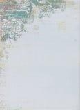 Diseño floral del modelo de Grunge Imagen de archivo