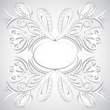 Diseño floral del remolino Foto de archivo