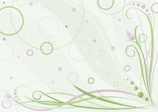 Diseño floral del resorte. Vector stock de ilustración
