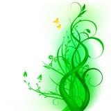 Diseño floral del vector Imagen de archivo libre de regalías