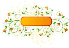Floral   diseño del vector imagen de archivo libre de regalías