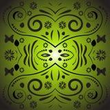 Diseño floral del vector abstracto ilustración del vector