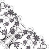 Diseño floral del vintage del ornamento. ilustración del vector