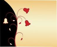 Diseño floral elegante Imagen de archivo libre de regalías