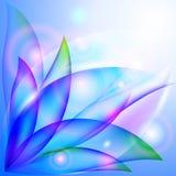 Diseño floral fresco. stock de ilustración