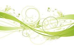 Diseño floral fresco ilustración del vector