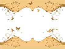 Diseño floral fresco abstracto Imagen de archivo libre de regalías