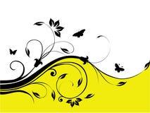 Diseño floral fresco abstracto Foto de archivo libre de regalías