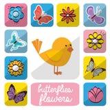 Diseño floral hermoso Fotografía de archivo libre de regalías