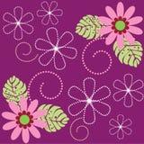 Diseño floral inconsútil Imágenes de archivo libres de regalías