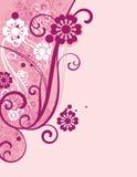 Diseño floral ornamental Imágenes de archivo libres de regalías