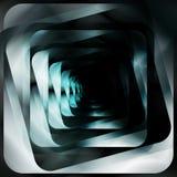 Diseño futurista abstracto del fondo de las formas Foto de archivo