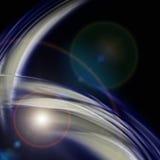 Diseño futurista del fondo de la onda de la tecnología Foto de archivo