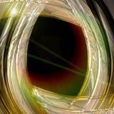 Diseño futurista del fondo de la onda de la tecnología Imágenes de archivo libres de regalías