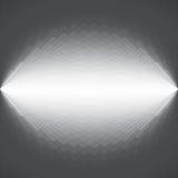 Diseño futurista gris y blanco abstracto del fondo Foto de archivo libre de regalías