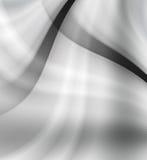 Diseño futurista gris y blanco abstracto del fondo Fotografía de archivo