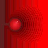 Diseño geométrico abstracto 3D Vector Fotos de archivo