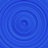 Diseño geométrico azul del fondo del círculo concéntrico de la pendiente stock de ilustración