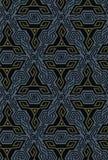 Diseño geométrico de la vibración de la ilusión óptica Modelo inconsútil de los colores de los triángulos Foto de archivo libre de regalías