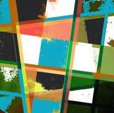 Diseño geométrico del fondo Fotografía de archivo libre de regalías