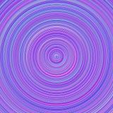 Diseño geométrico del fondo del círculo concéntrico del extracto de la pendiente ilustración del vector