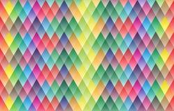 Diseño geométrico del modelo del fondo colorido Imagenes de archivo