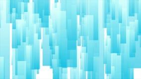 Diseño geométrico del movimiento de la tecnología abstracta azul clara libre illustration