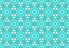 Diseño geométrico islámico Imagen de archivo libre de regalías