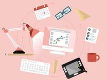 Diseño gráfico Imágenes de archivo libres de regalías