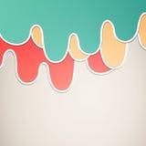 Diseño gráfico colorido libre illustration