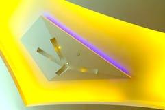 Diseño gráfico de la luz de techo Fotografía de archivo libre de regalías