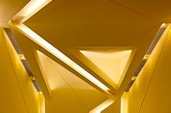 Diseño gráfico de las luces de techo Fotos de archivo libres de regalías