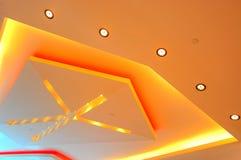 Diseño gráfico de las luces de techo Foto de archivo libre de regalías